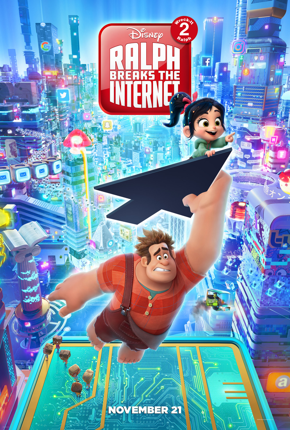 دانلود فیلم Ralph Breaks the Internet 2018